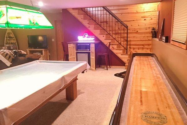 shell-lake-cabin-basement